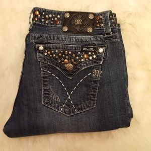 Miss Me Jeans size 33x34 boot cut
